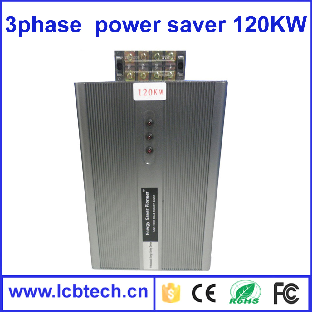 High quality energy power saver 3 phase power stabilizer 3 phases power failure alarm system 120W with 1 year warranty