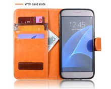 Men, Wemen PU Leather Mobile Phone Wallets Cases Cover for iPhone 6 6s 7 7 plus and for Samsung Galaxy