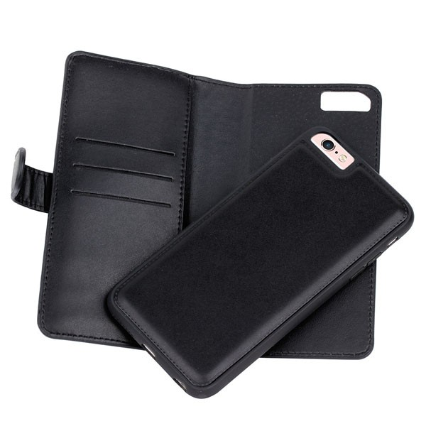 Multi-function Wallet Case For iPhone 6S 6 Case 3 Card Holders Luxury PU Leather Flip Cover 5 Colors Available