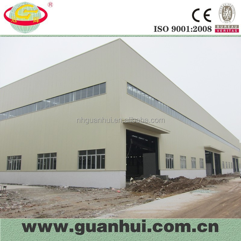 Prefabricated ware house roof steel structure