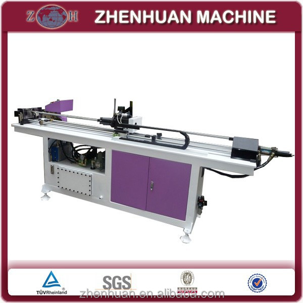 Solar copper tube collaring machine