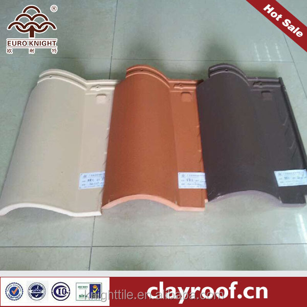 Fashion Shingle roof tile Spanish clay roof tile chinese clay roof tile project solution provider
