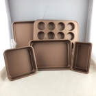 Best selling Nonstick bakeware set 5pc bakeware set