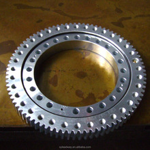 High Precision Galvanized Slewing Ring Bearing with External Gear