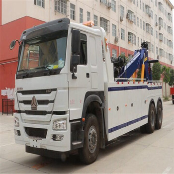 Sino HOWO Heavy China Wrecker Towing Truck for sale