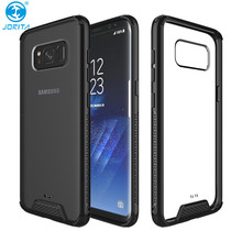 360 Rotation Ring Holder Hybrid TPU PC Case For Samsung Galaxy S8 Case