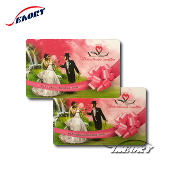 customized plastic pvc cards with embossing number