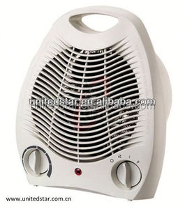2 Heating Electric Room Fan Heater 1000w/2000w USHH-042