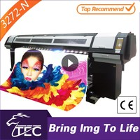 outdoor 3.2m large eco solvent one way vision printer plotter