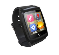 Android 4.4 System GPS Navigation WiFi Android Smart Silicone Watch