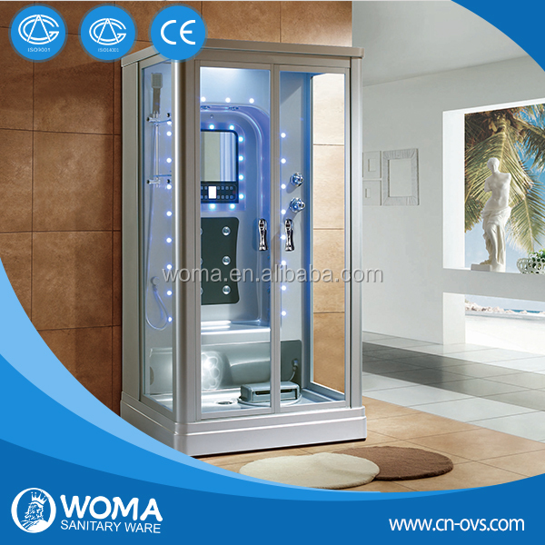 Newest style Steam shower with LED computer control panel Y846