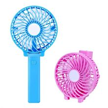 usb led light mini cooling rechargeable portable and foldable fan