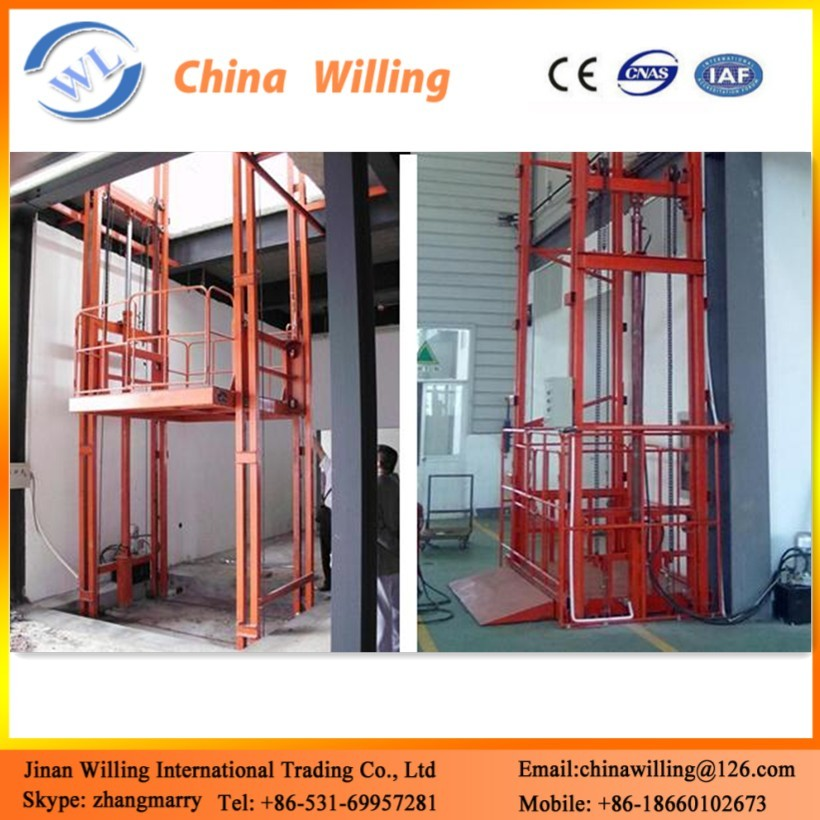WLA0.3-16m Three Masts High Rise Aluminum Telescopic Work Platform