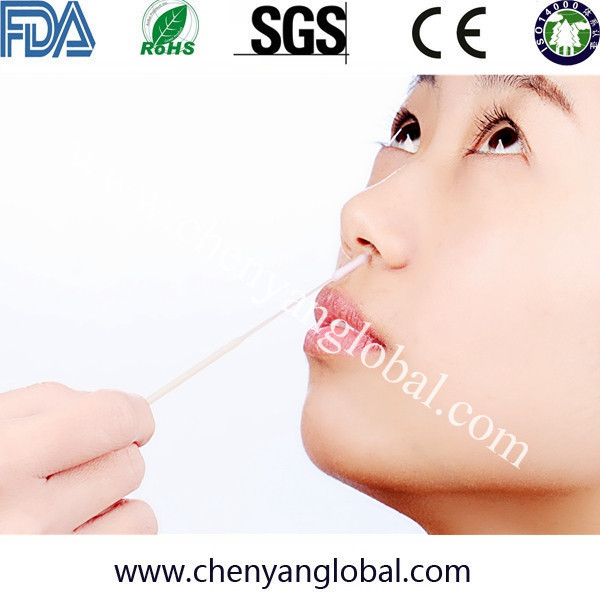 Health And Medical Best Selling Cleaning Collection Of DNA Buccal Specimen Medical Alcohol Flocked Swab For Injection