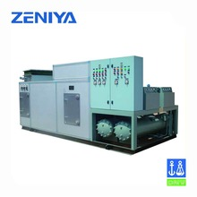 Air purification water cooled packaged type central air conditioning units for marine air conditioning use