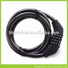 bicycle lock bluetooth ,BHT007 long line bike lock for sale