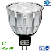 LED bulb MR16 recessed spot light MR16 Dimmable light---replacement 50W halogen lamp