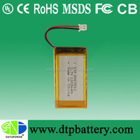 UL,CE,FCC approved cordless phone lithium battery 3.7v 1200mah for digital products