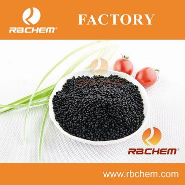 High work efficiency nitrogen best organic fertilizer with humic acid Black urea