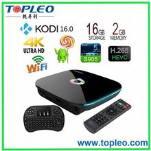 Smart Google Android 5.1 TV ott tv box Q Box Amlogic S905 Kodi 16.0 2g 16g
