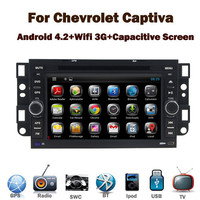 Pure Android 4.2 Car Radio DVD GPS for Chevrolet Captiva Epica Lova with Capacitive Touch screen Bluetooth Radio RDS USB IPOD