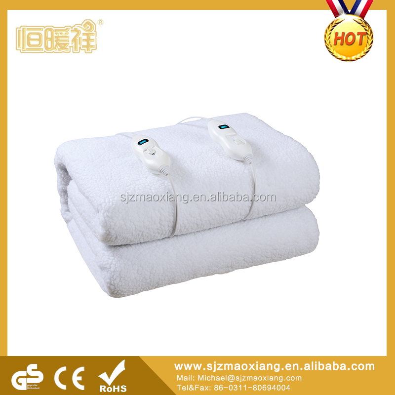 Temperature Controller Flannel Electric Blanket