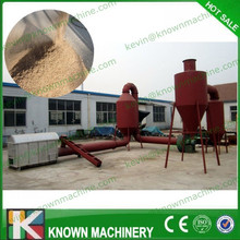 High-efficiency air flow type / flash sawdust dryer with CE and ISO