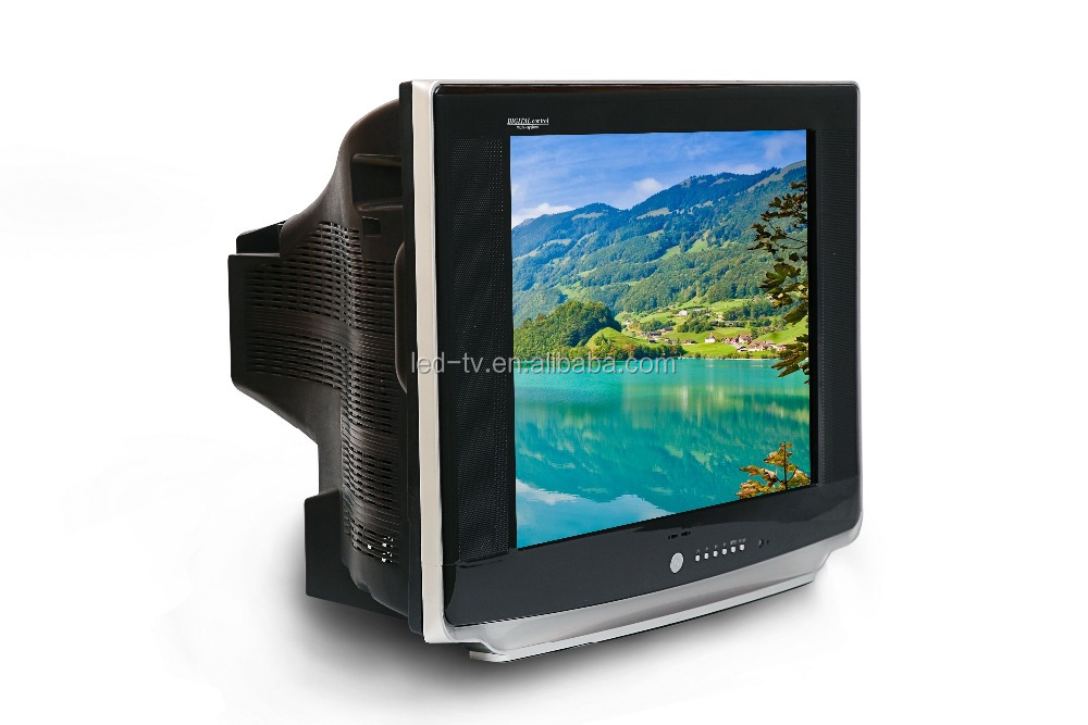 china cheap price 21 inch ultra slim pure flat CRT TV Kit/CRT SKD TV