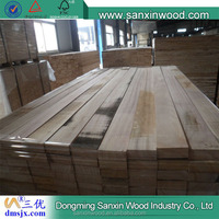 without glue or sanding for making picture frame of solid raw material paulownia wood