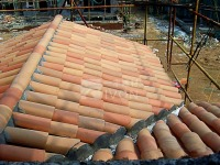 IVON roof truss prices flat ceramic roof tile Roof
