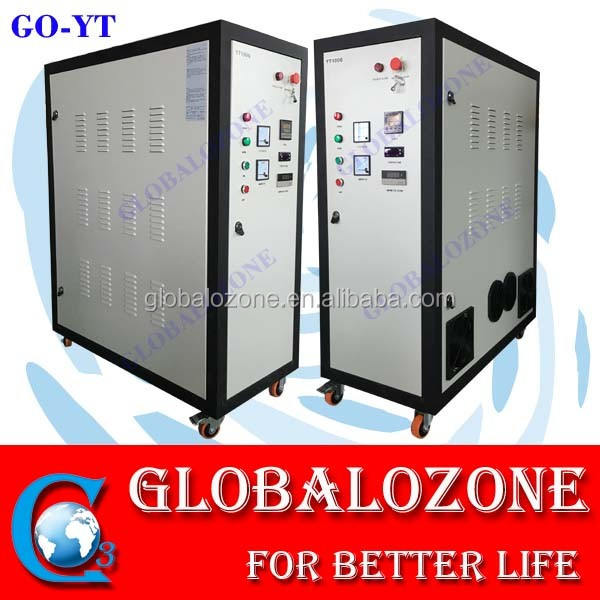 High ozone output ozonator for pharmaceutical industry sterilization