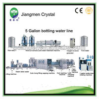 Automatic filling machine for 5 gallon bottle water production line