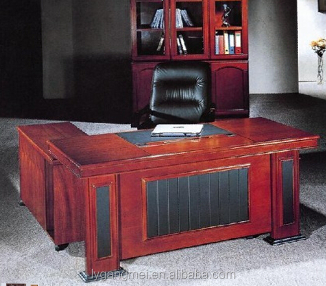 High end wooden office furniture for tall people