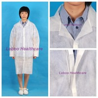 Manufaturer for non woven surgical lab gown to prevent scurf and hair falling