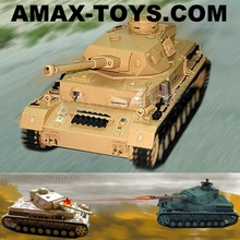 1:16 RC combat Tank with Smoking,Flashing(after hit),Infrared shooting