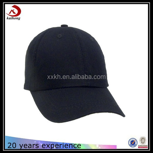 small size children caps baseball no brand black fitted hats