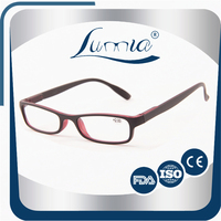cheap reading eyewear/fashion glasses in plastic tube