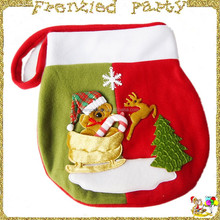 non-woven bag santa sack with drawstring FGCS-0006