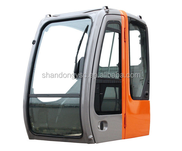 excavator parts driving cab with attachment cab glass, excavator driver cabin operator cabin for EX120, EX150,EX160-1,EX200-2