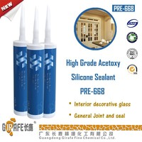 668 High performance Acetoxy Silicone Sealant