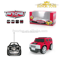 2016 New design kids plastic 1:24 scale 4CH mini radio control toys car