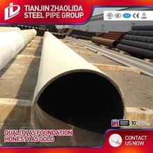 Hot selling ssaw water pipe line / spiral welded steel pipe supplier for wholesales
