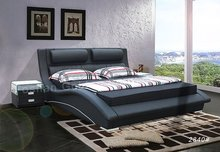 2015 latest design king size italian bedroom bed