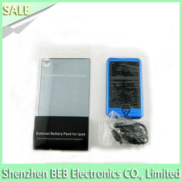 Hot selling 5000mah solar cell phone charger circuit