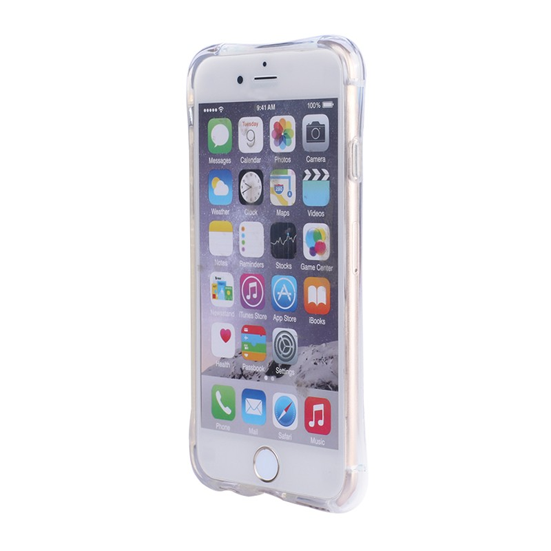 Air sac protective dots design crashproof TPU case for iPhone 4 4s