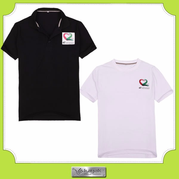 Custom design with your own logo polyester polo shirts for for Design your own polo shirts