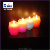 Aromatherapy Type Votive Frosted glass candle light