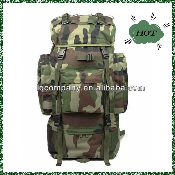 2017 Black Camping Hiking Bag Outdoor military tactical backpack