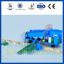 SINOLINKING Small Mobile Gold Washing Trommel from China