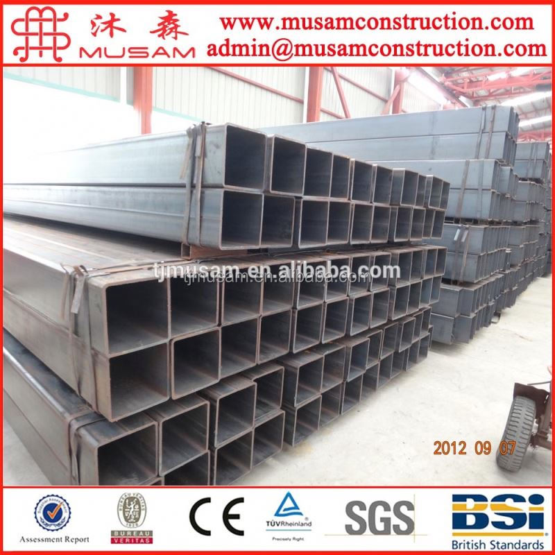Rhs steel profiles hollow section shs full